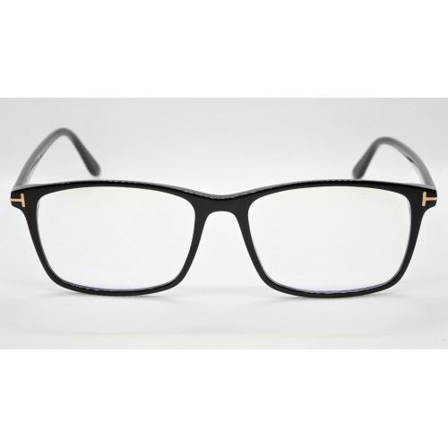 Tom Ford Oprawa okularowa męska FT5584-B 001 - czarny