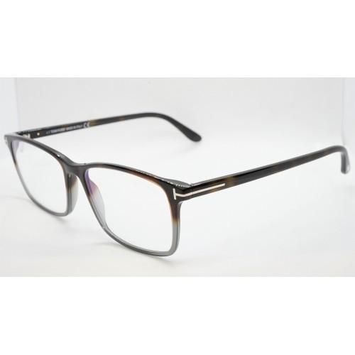 Tom Ford Oprawa okularowa męska FT5584-B 056 - szylkretowy, szary
