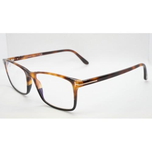 Tom Ford Oprawa okularowa męska FT5584-B 053 - szylkretowy, czarny
