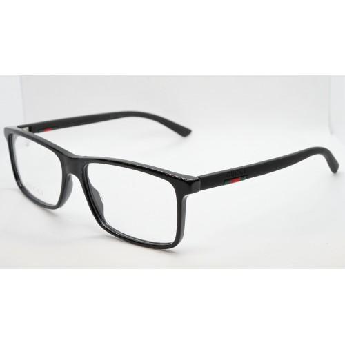 Gucci Oprawa okularowa męska GG0384O 004 - czarny