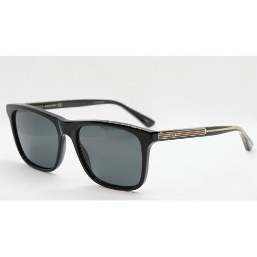 Gucci Okulary przeciwsłoneczne męskie Gucci GG0381S 006 - czarny, filtr UV400