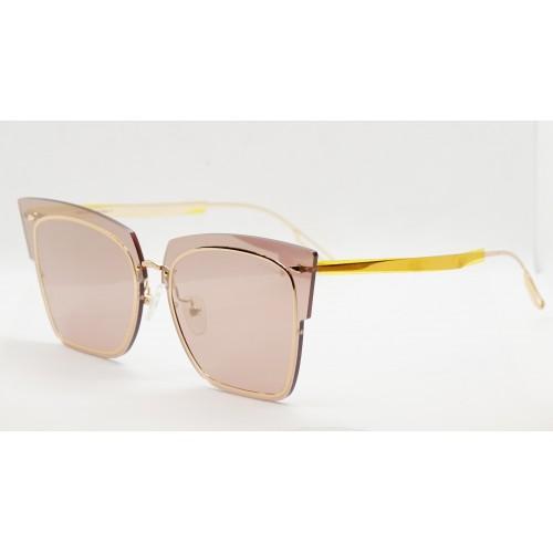 Ana Hickmann Okulary przeciwsłoneczne damskie AH3122 04B- złoty, filtr UV 400