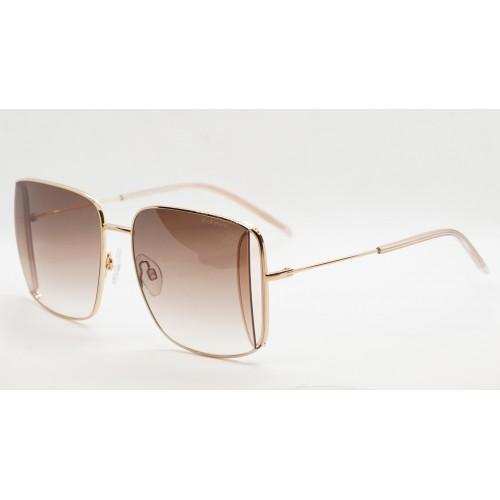 Ana Hickmann Okulary przeciwsłoneczne damskie HI3142 04A - złoty, brązowy, filtr UV 400
