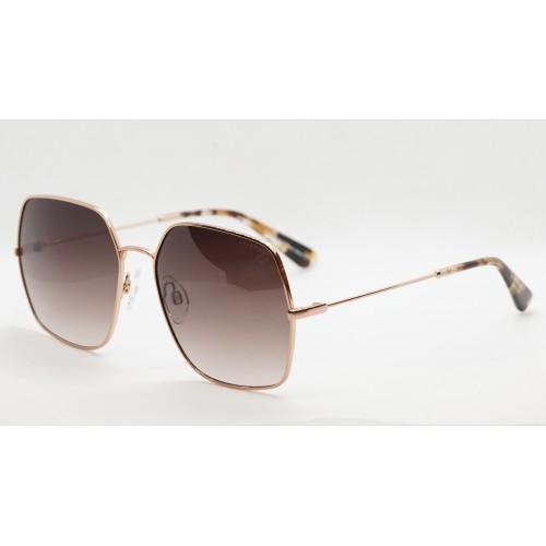 Ana Hickmann Okulary przeciwsłoneczne damskie HI3140 05A - złoty, brązowy, filtr UV 400