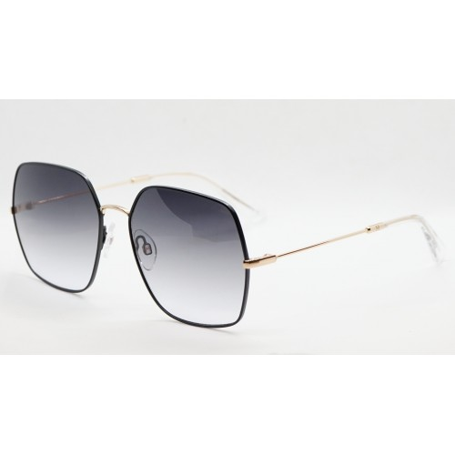 Ana Hickmann Okulary przeciwsłoneczne damskie HI3140 09A - złoty, czarny, filtr UV 400