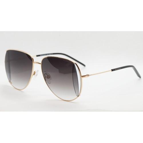 Ana Hickmann Okulary przeciwsłoneczne damskie HI3143 04B - złoty, czarny, filtr UV 400