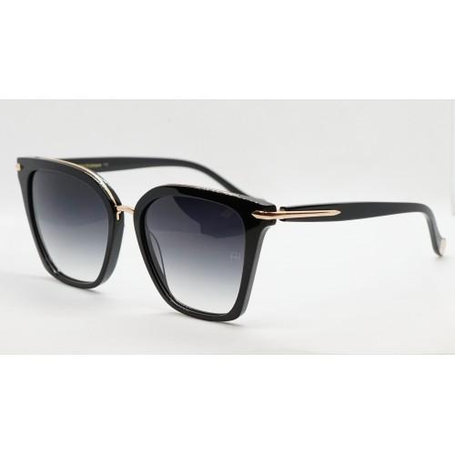 Ana Hickmann Okulary przeciwsłoneczne damskie AH9319 A01 - złoty, czarny, filtr UV 400