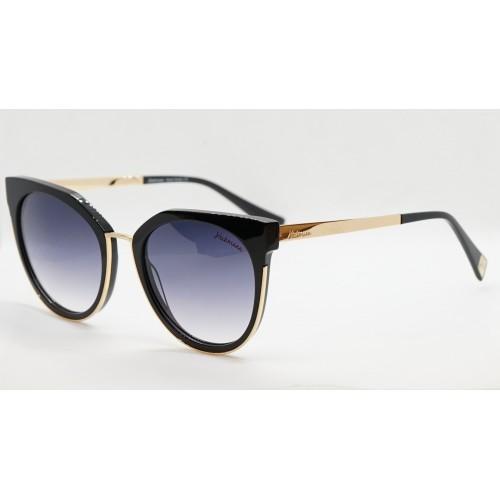 Ana Hickmann Okulary przeciwsłoneczne damskie HI9078 A02 - złoty, czarny, filtr UV 400