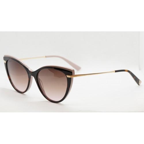 Ana Hickmann Okulary przeciwsłoneczne damskie AH9281 H02 - złoty, szylkret, filtr UV 400