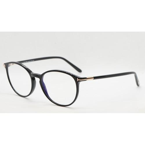 Tom Ford Oprawa okularowa damska FT5617-B 001- czarny