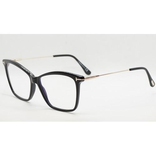 Tom Ford Oprawa okularowa damska FT5687-B 001 - czarny