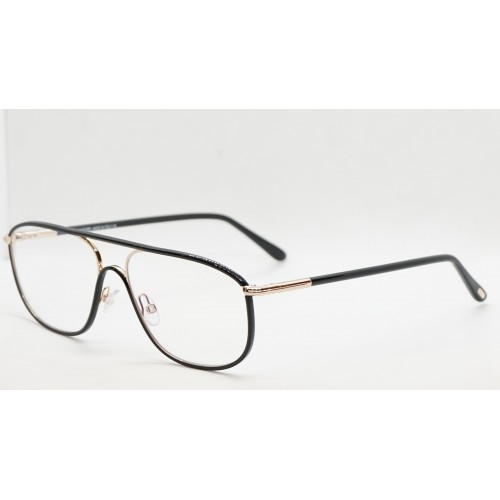 Tom Ford Oprawa okularowa męska FT5624-B 001 - czarny, złoty