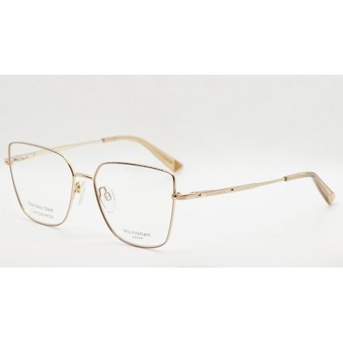 Ana Hickmann Oprawa okularowa damska AH1380 01A - złoty