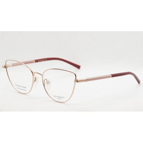 Ana Hickmann Oprawa okularowa damska AH1390 05B - złoty