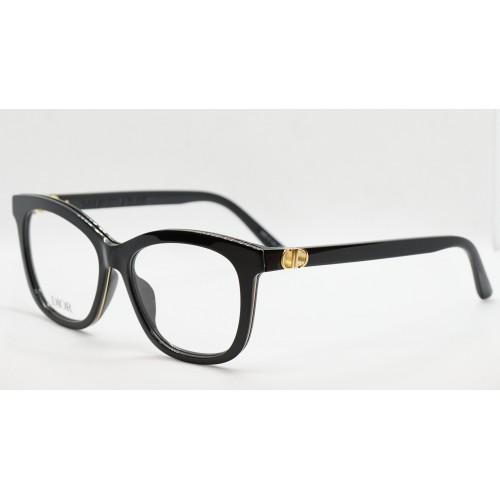 DIOR Oprawa okularowa damska DiorMontaigneMiniO B21- czarny