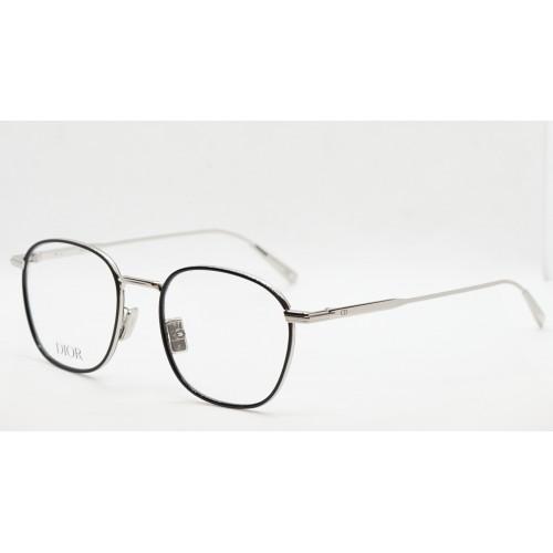 DIOR Oprawa okularowa damska DiorBlacksuitO S2U - srebrny, czarny