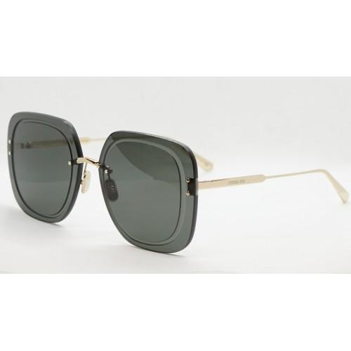 DIOR Okulary przeciwsłoneczne damskie UltraDior SU B0A0 - szary, złoty, filtr UV400