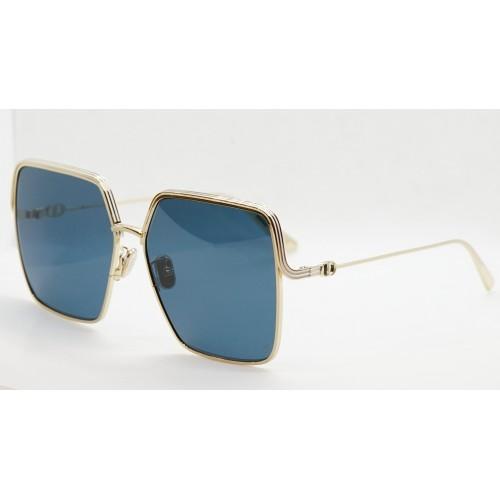 DIOR Okulary przeciwsłoneczne damskie EverDior S1U B0B0 - granatowy, złoty, filtr UV400