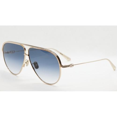 DIOR Okulary przeciwsłoneczne damskie EverDior A1U D0B1 - granatowy, złoty, filtr UV400