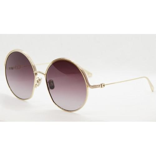 DIOR Okulary przeciwsłoneczne damskie EverDior R1U B0D1 - śliwkowy, złoty, filtr UV400