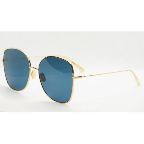 DIOR Okulary przeciwsłoneczne damskie STELLAIRE BU A0B0 - granatowy, złoty, filtr UV400