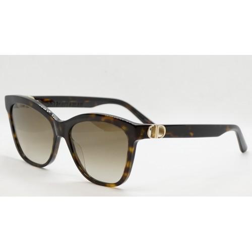 DIOR Okulary przeciwsłoneczne damskie 30MontaigneMini BI 20F1 - szylkret, filtr UV 400