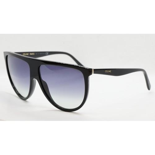 Celine Okulary przeciwsłoneczne damskie CL4006IN 01P - czarny, filtr UV 400