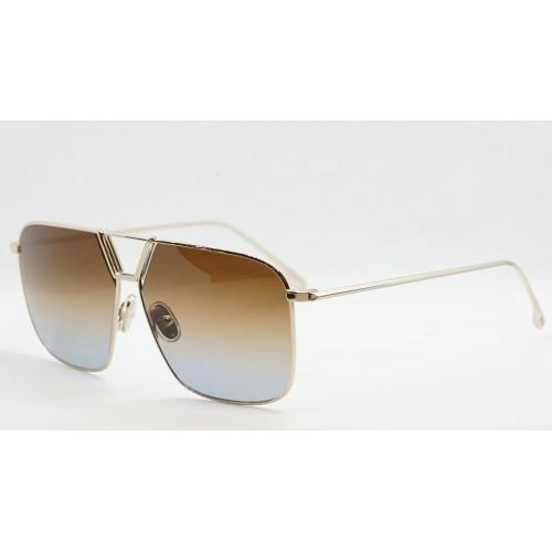 Victoria Beckham Okulary przeciwsłoneczne damskie VB204S 706 - złoty, filtr UV 400
