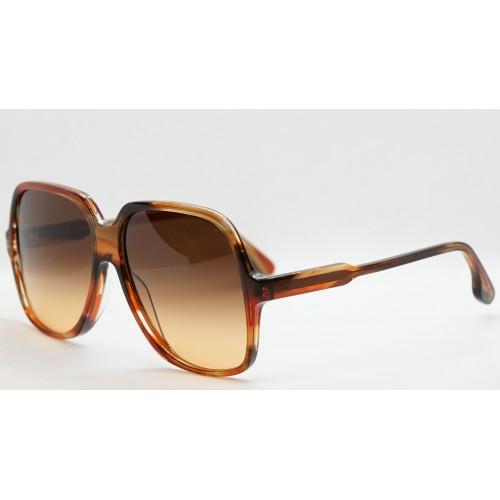 Victoria Beckham Okulary przeciwsłoneczne damskie VB626S 617 - szylkretowy, filtr UV 400