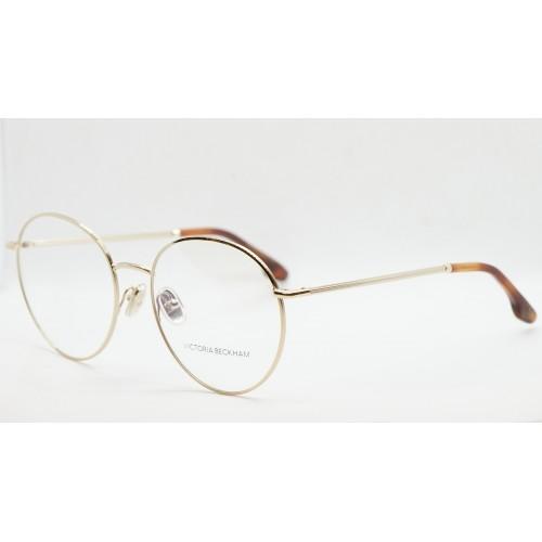 Victoria Beckham Oprawa okularowa damska VB2110 714  - złoty