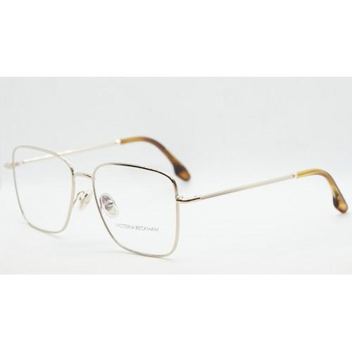 Victoria Beckham Oprawa okularowa damska VB2118 714  - złoty