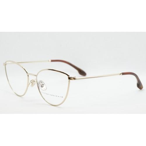 Victoria Beckham Oprawa okularowa damska VB2113 714  - złoty