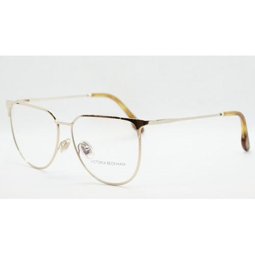 Victoria Beckham Oprawa okularowa damska VB2121 714 - złoty