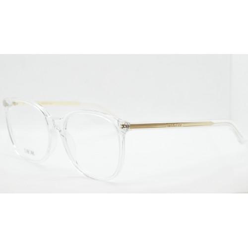 DIOR Oprawa okularowa damska DiorSpiritO SI 8500- transparentny, złoty