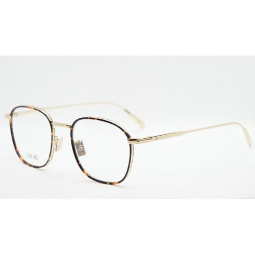 DIOR Oprawa okularowa damska DiorBlacksuitO S2U B500 - złoty, szylkretowy