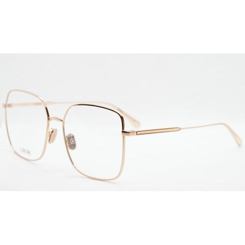 DIOR Oprawa okularowa damska GemDiorO SU E000 - różowe złoto