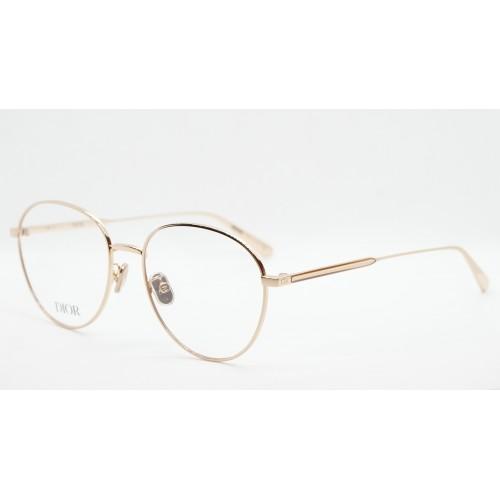 DIOR Oprawa okularowa damska GemDiorO RU E000- różowe złoto