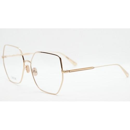 DIOR Oprawa okularowa damska GemDiorO S2U E000 - różowe złoto