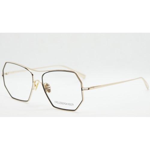 Kreuzbergkinder Oprawa okularowa damska ANNIE C1 - złoty, czarny