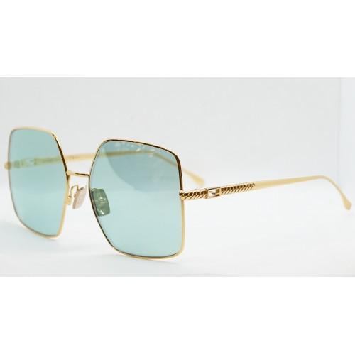 Fendi Okulary przeciwsłoneczne damskie FF0439/S 001O7 - złoty, filtr UV 400