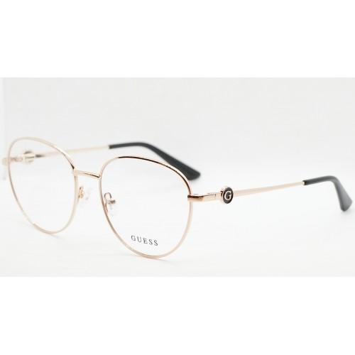 GUESS Oprawa okularowa damska GU2756/V 028 - złoty, różowy