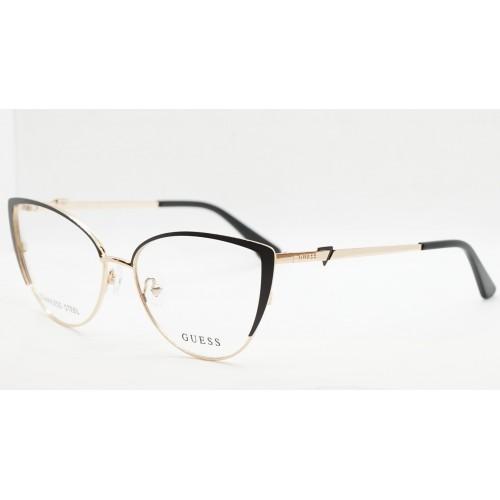 GUESS Oprawa okularowa damska GU2813/V 002 - złoty, czarny