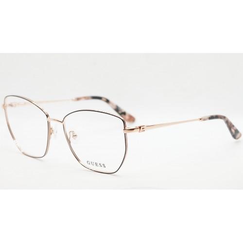 GUESS Oprawa okularowa damska GU2825/V 005 - złoty, różowy, czarny