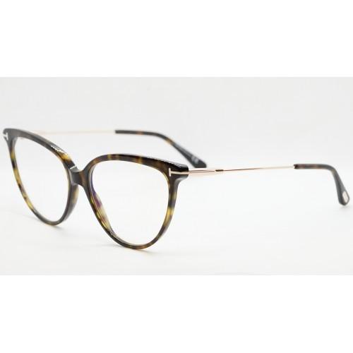 Tom Ford Oprawa okularowa damska FT5688-B 052 - szylkret