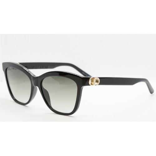 DIOR Okulary przeciwsłoneczne damskie 30MontaigneMini BI 1GA1 - czarny, filtr UV 400