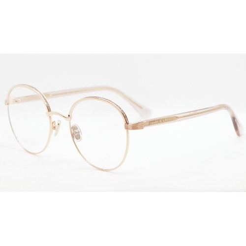 Jimmy Choo Oprawa okularowa damska JC267/G J5G - złoty, różowy
