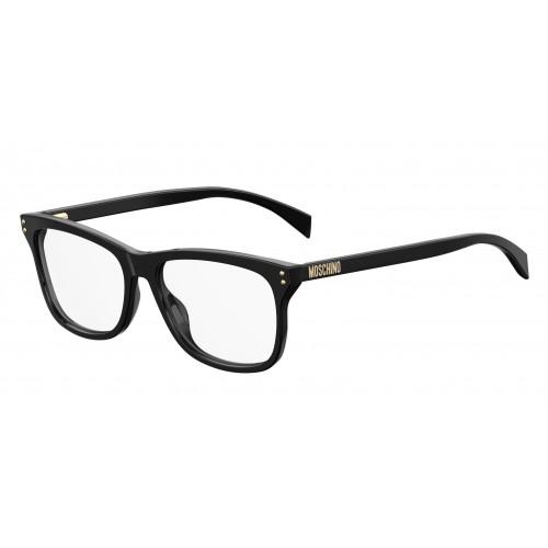 MOSCHINO Oprawa okularowa damska MOS501 807 - czarny