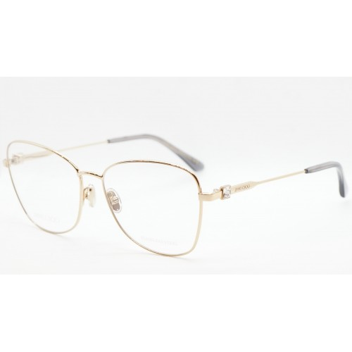 Jimmy Choo Oprawa okularowa damska JC304 000 - złoty
