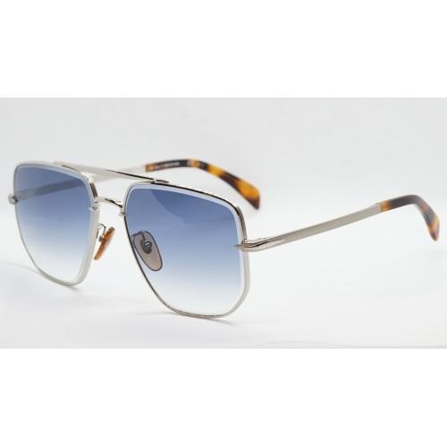 David Beckham Okulary przeciwsłoneczne męskie DB7001/S 01008 - srebrny, filtr UV 400