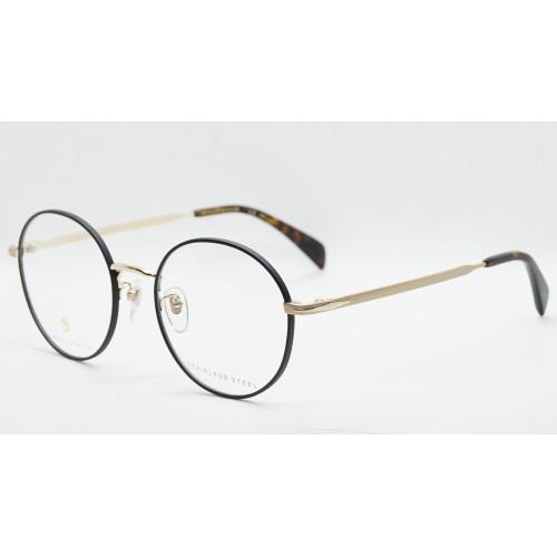 David Beckham Oprawa okularowa męska DB1058/F RHL - złoty, czarny